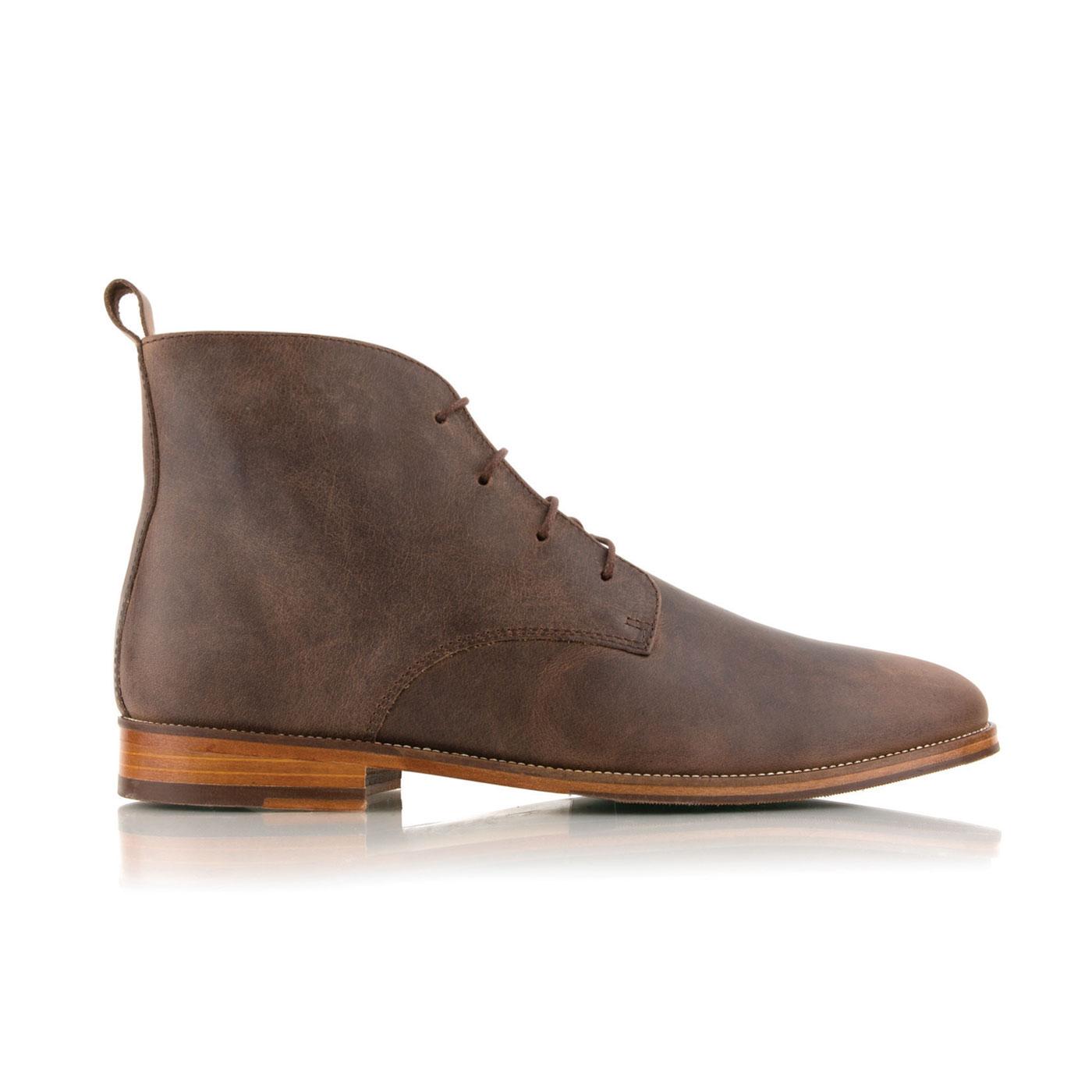 Boots L'EXPLORATEUR Brun des Andes