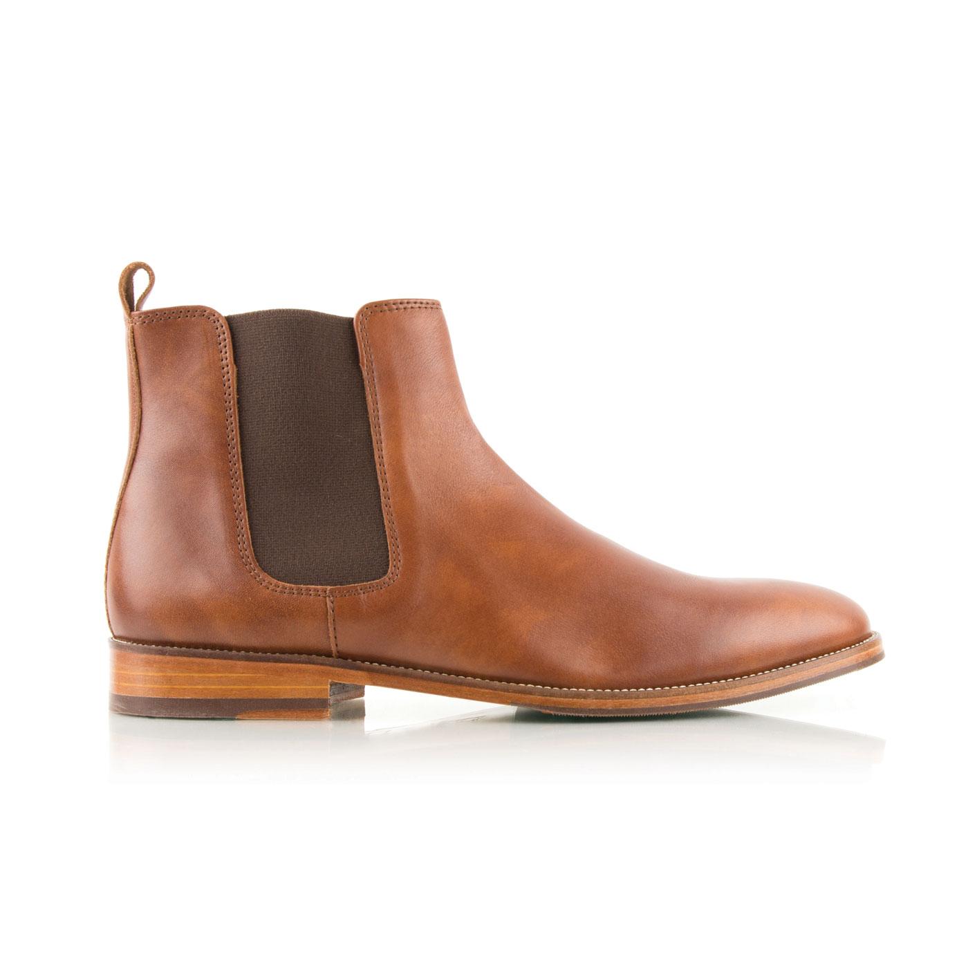 Boots à élastique L'HORLOGER Cognac