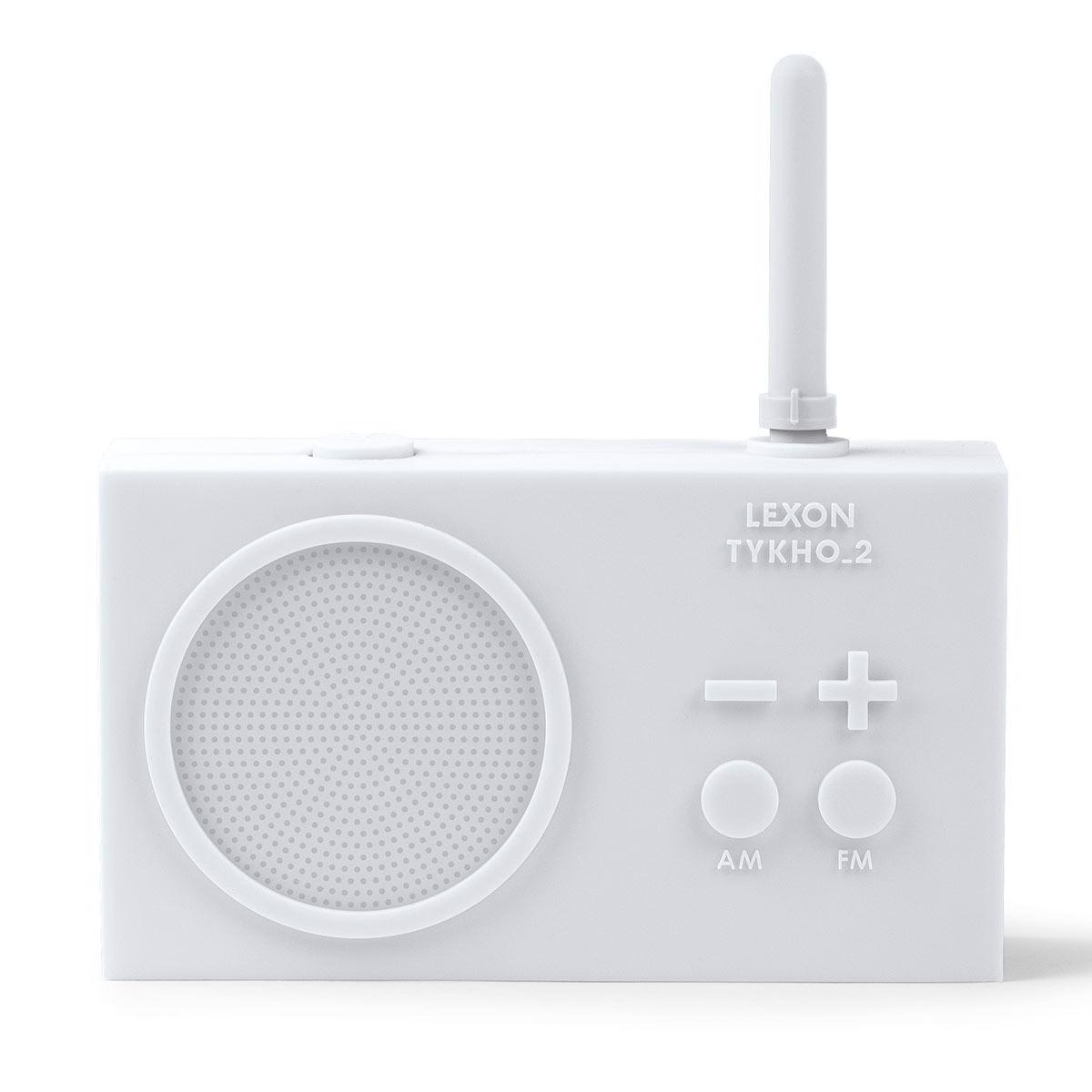 Radio TYKHO 2 blanc