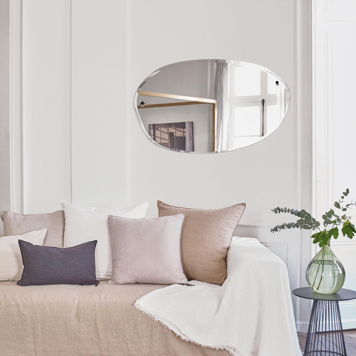 M NUANCE Miroir MORNING modèle allongé