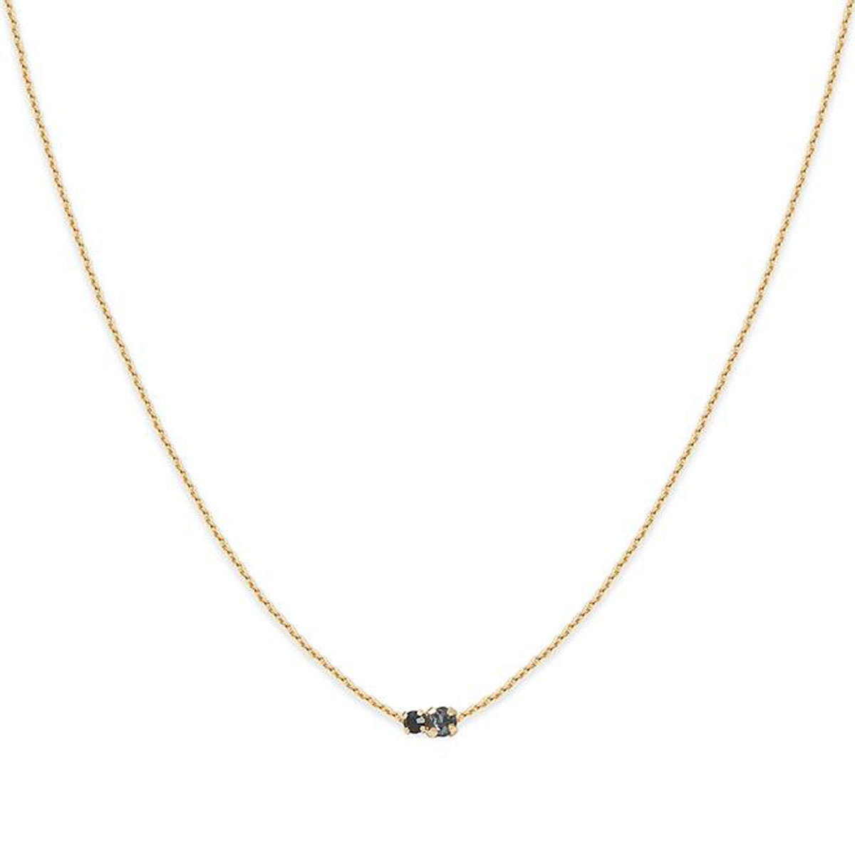 Collier AMANTS strass night