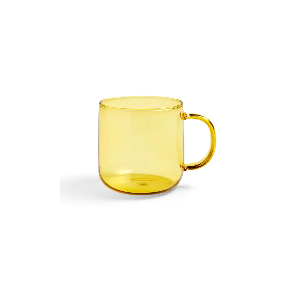 Mug BOROSILICATE jaune