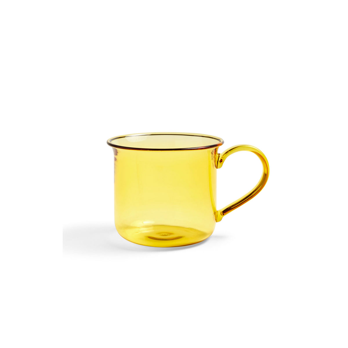 Tasse BOROSILICATE jaune