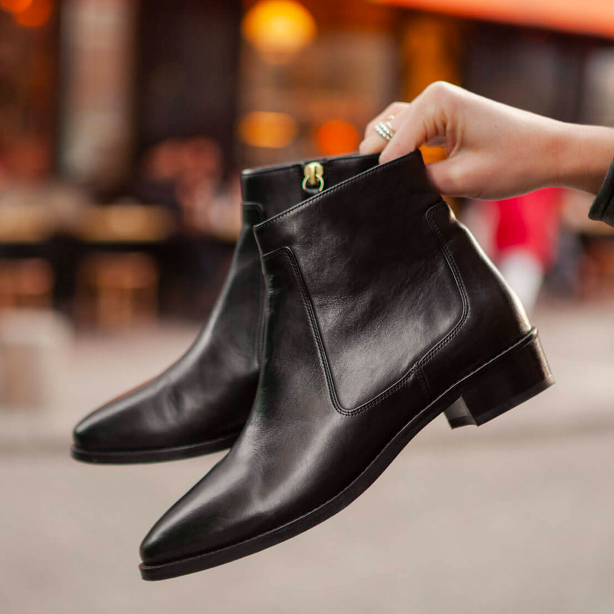 Bottines n°67 noir