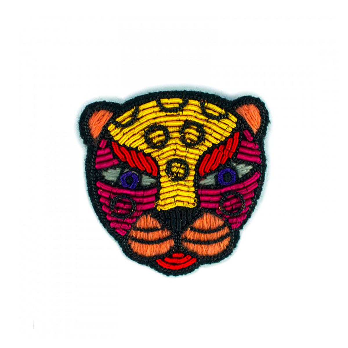 MACON&LESQUOY Broche LEOPARD FUNKY