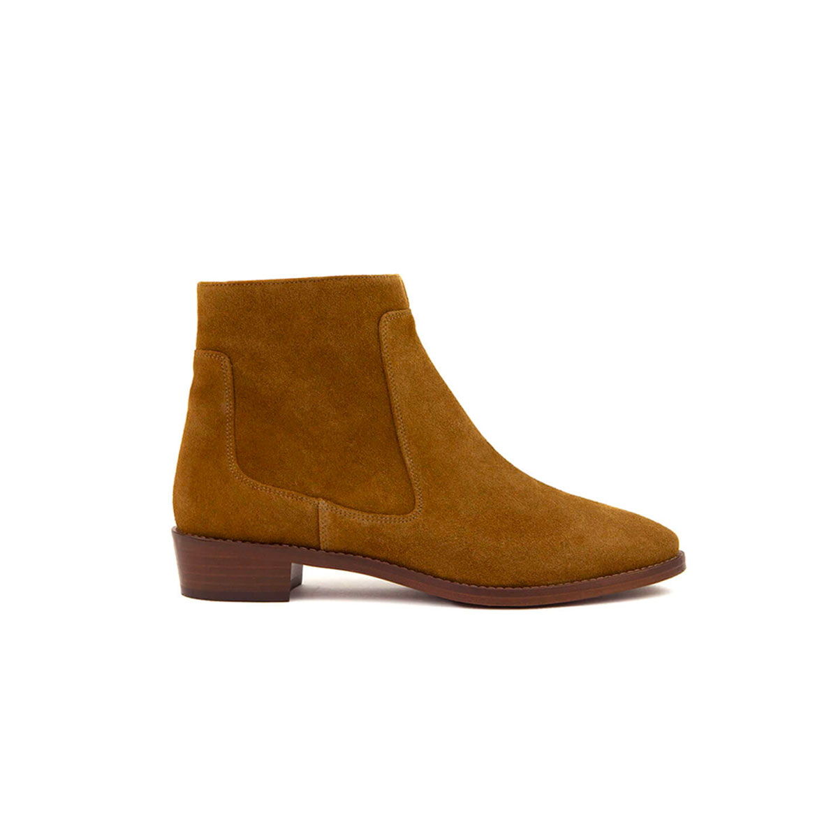 Bottines n°67 Ecorce