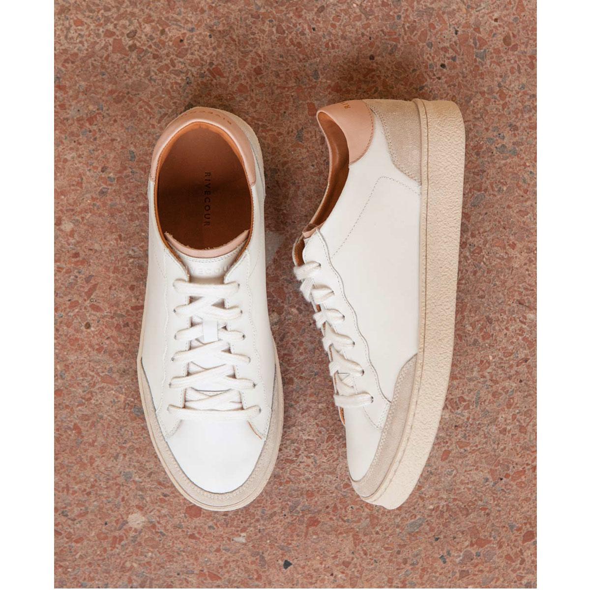 RIVECOUR Baskets N°14 Blanc blush