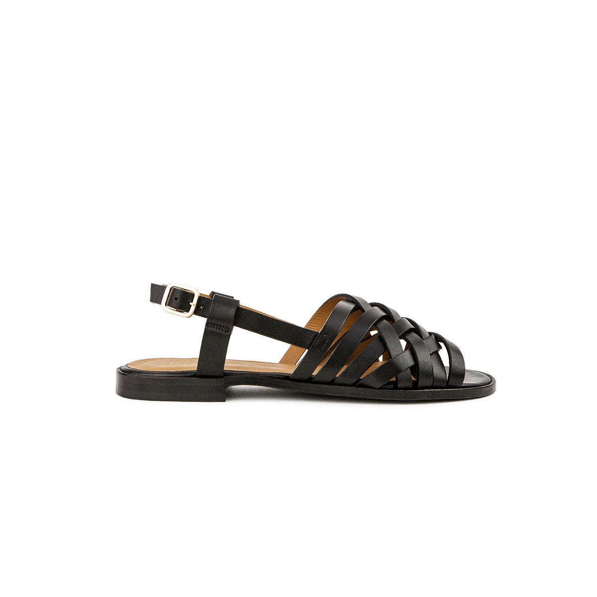 Sandales N°63 noir