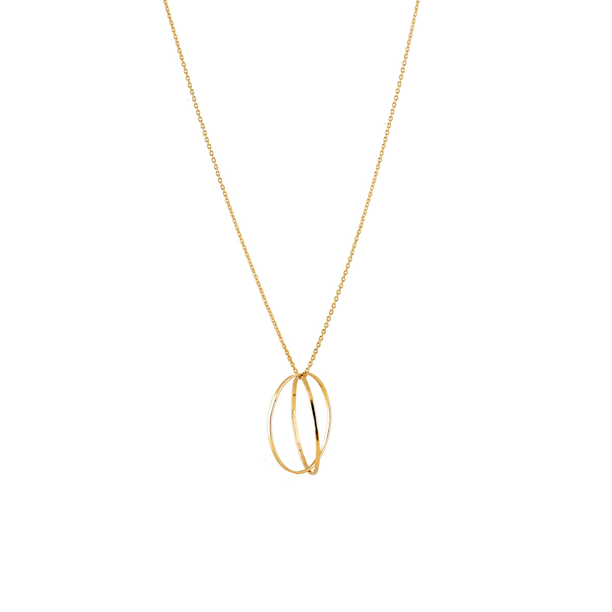 Collier WELT gold plated 925 silver