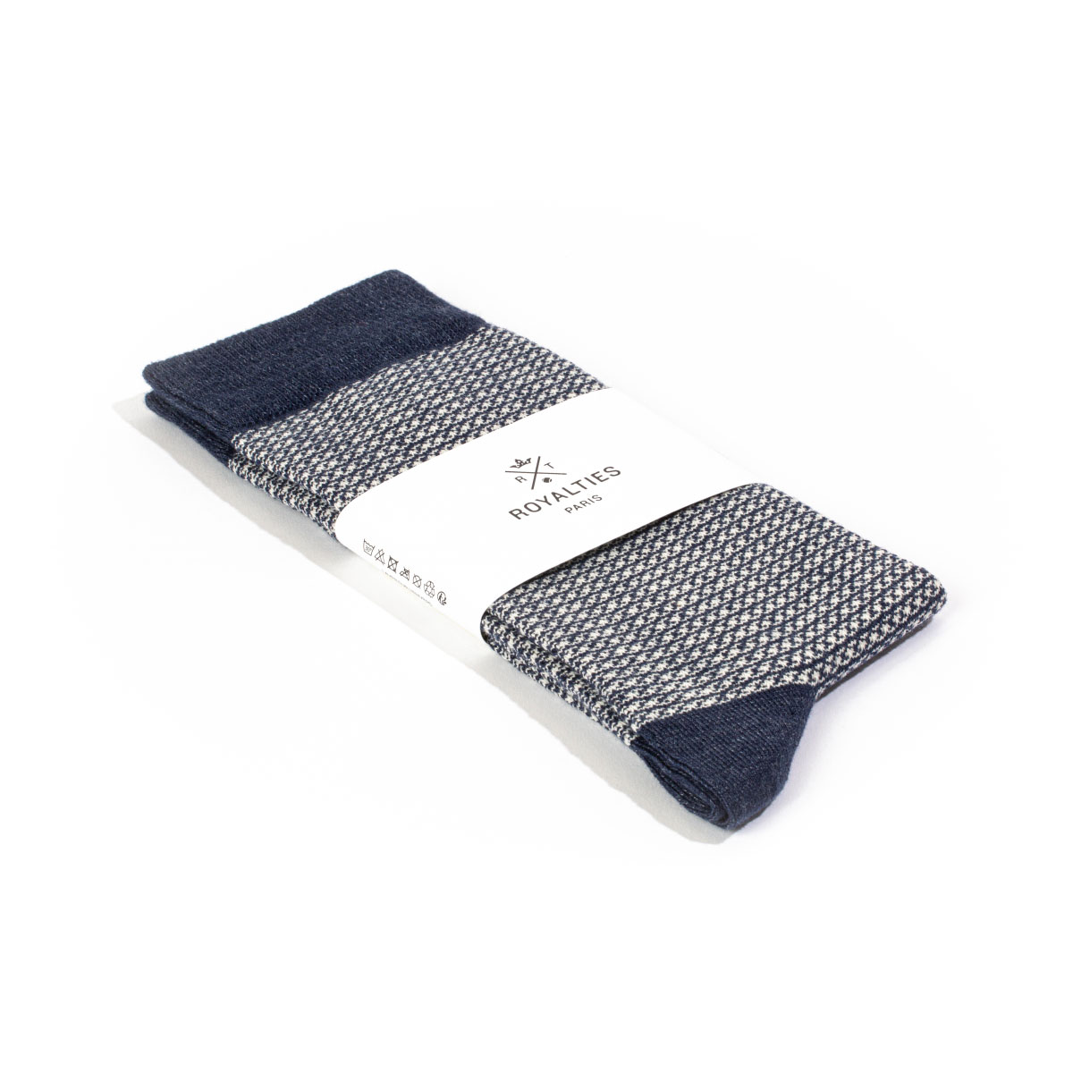 ROYALTIES Chaussettes MAXWELL marine