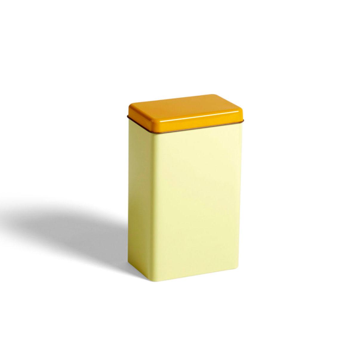 Boite TIN SOWDEN jaune