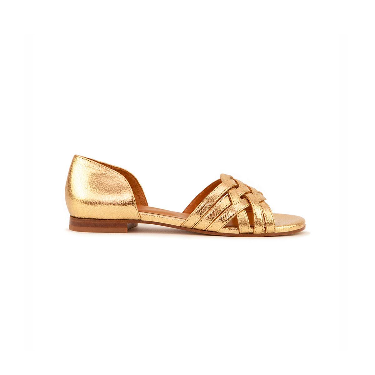 RIVECOUR Sandales N°34 gold