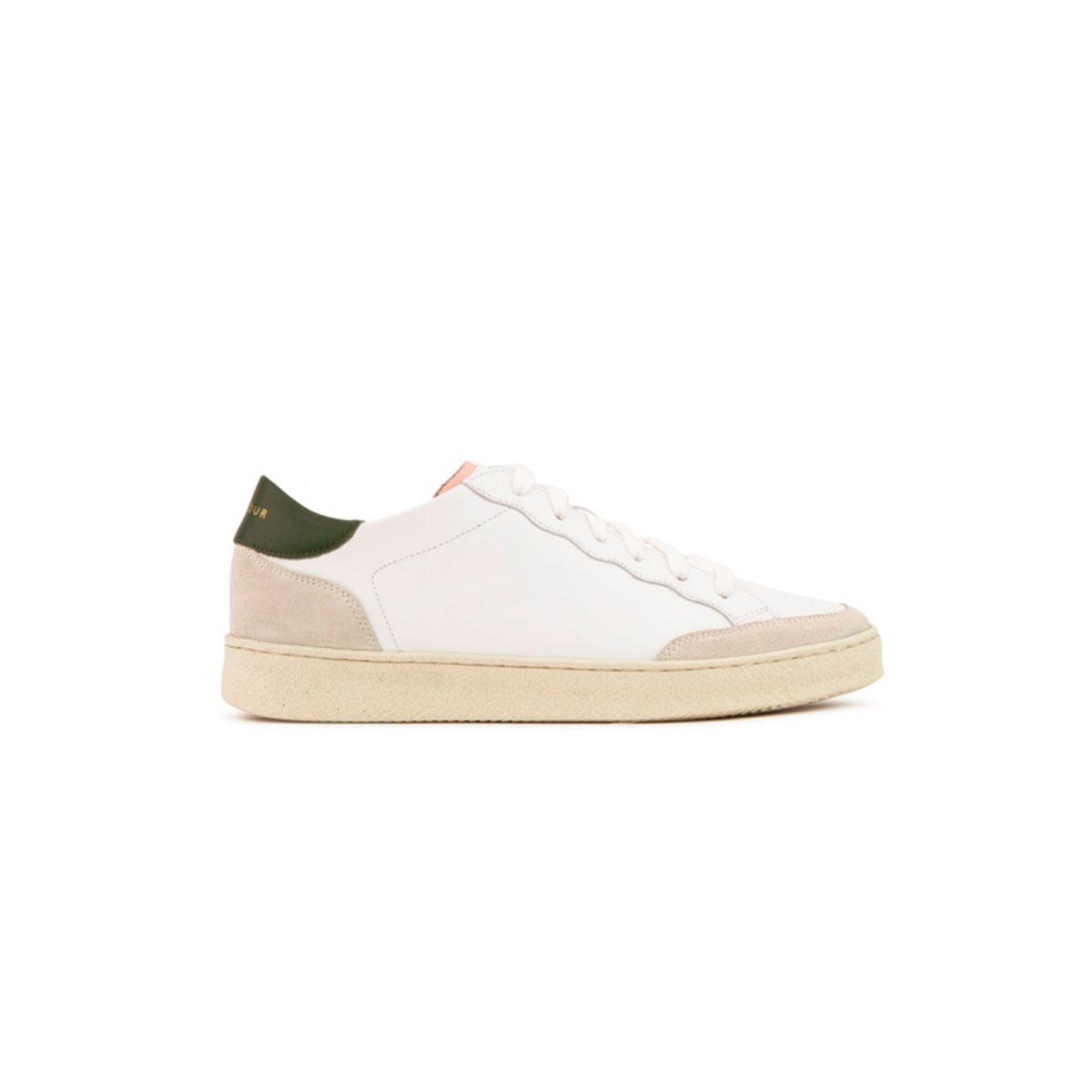 Baskets N°14 Blanc kaki