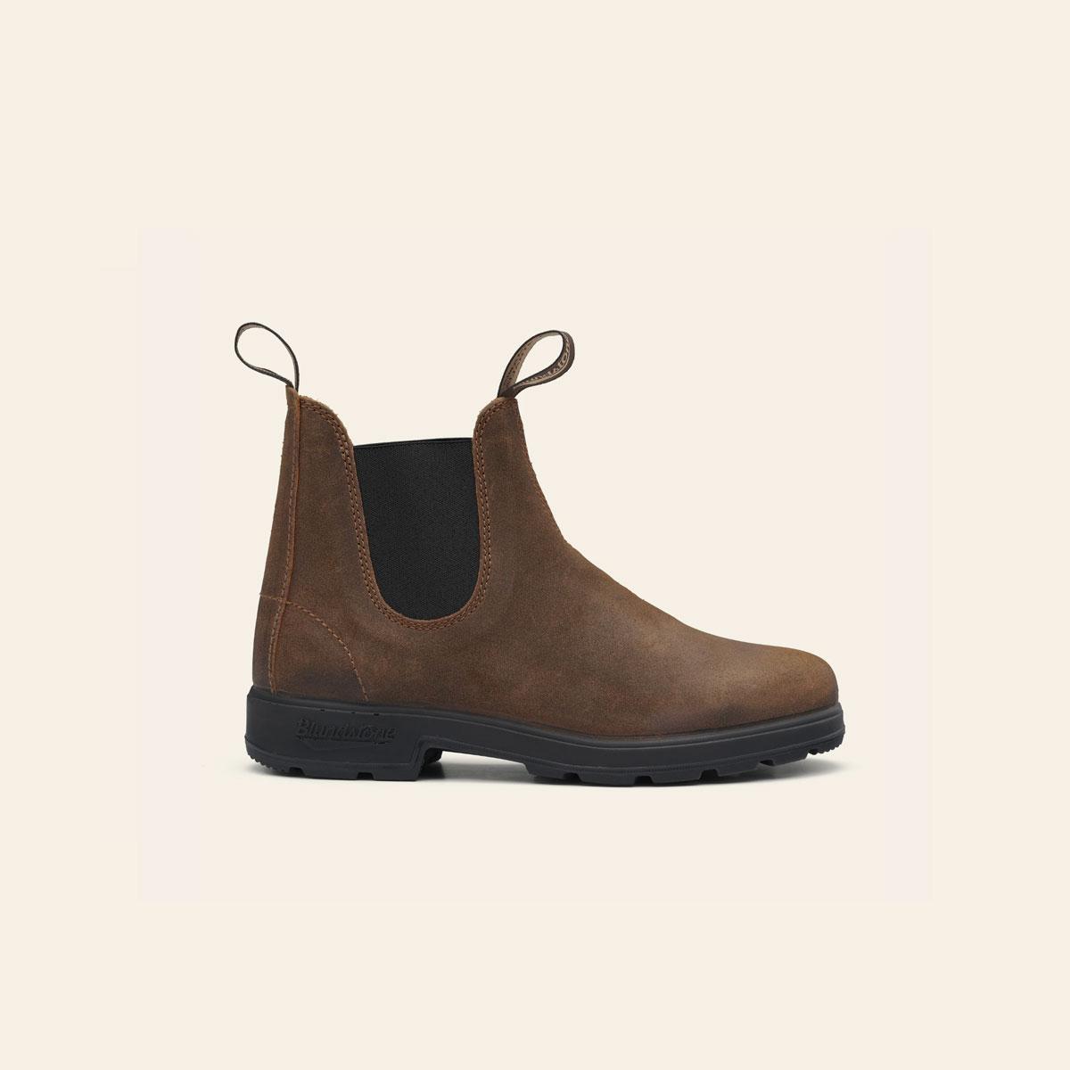 BLUNDSTONE Original Boots 1911 Waxed suede tobacco