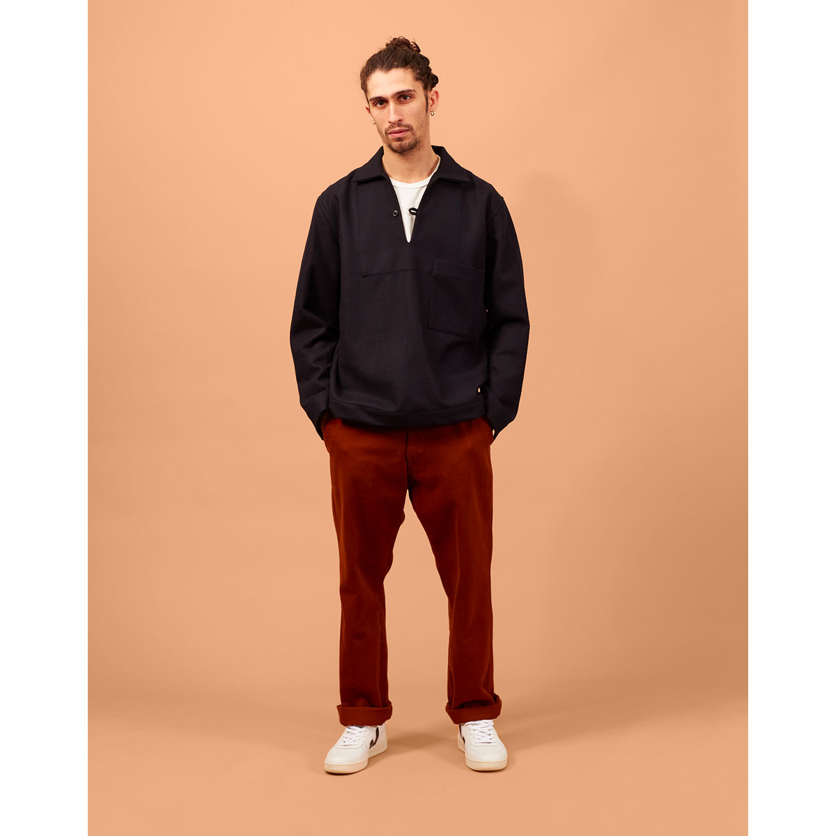 OUTLAND Pantalon DOCK Twill rouille