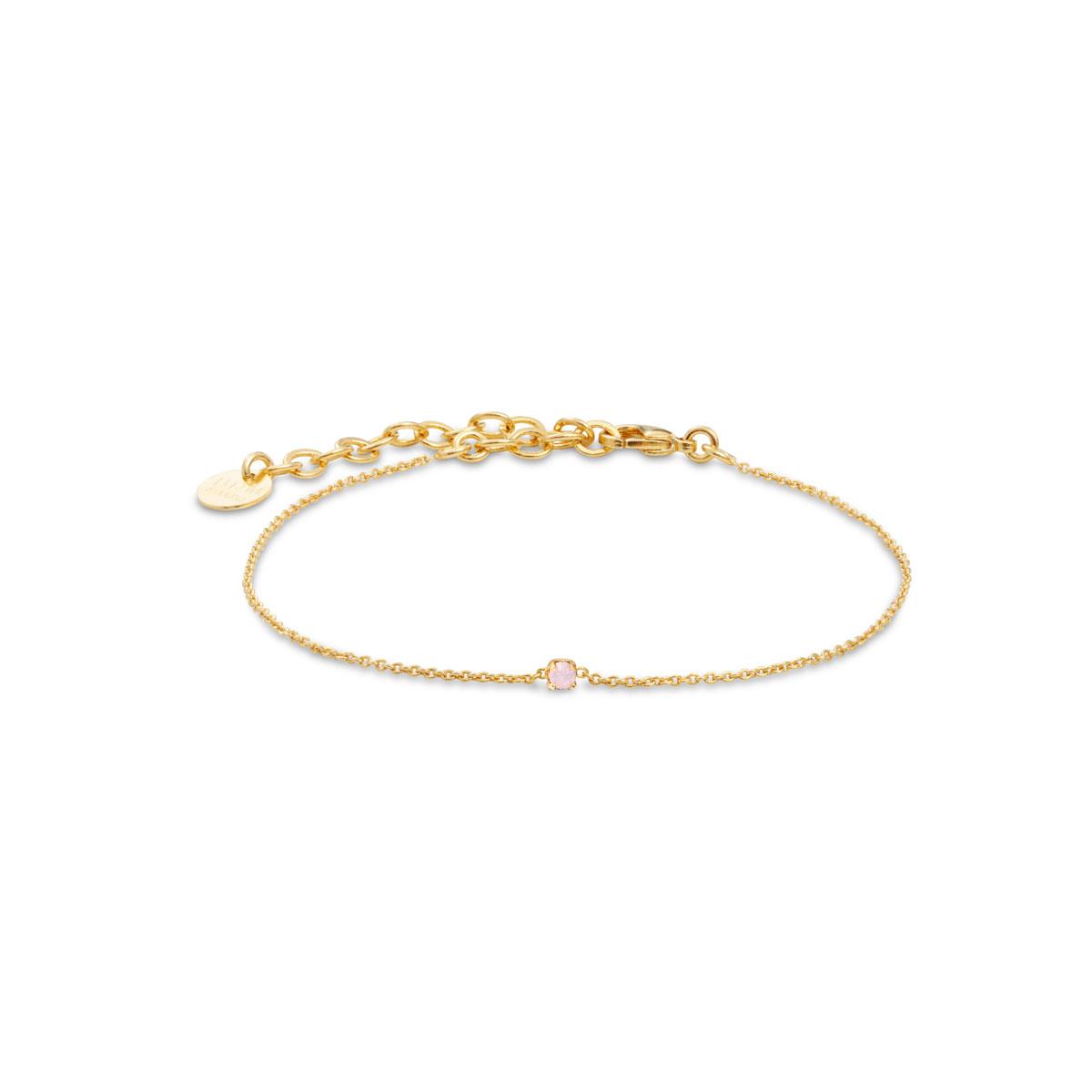 BDM STUDIO Bracelet SECRET Rose water opal