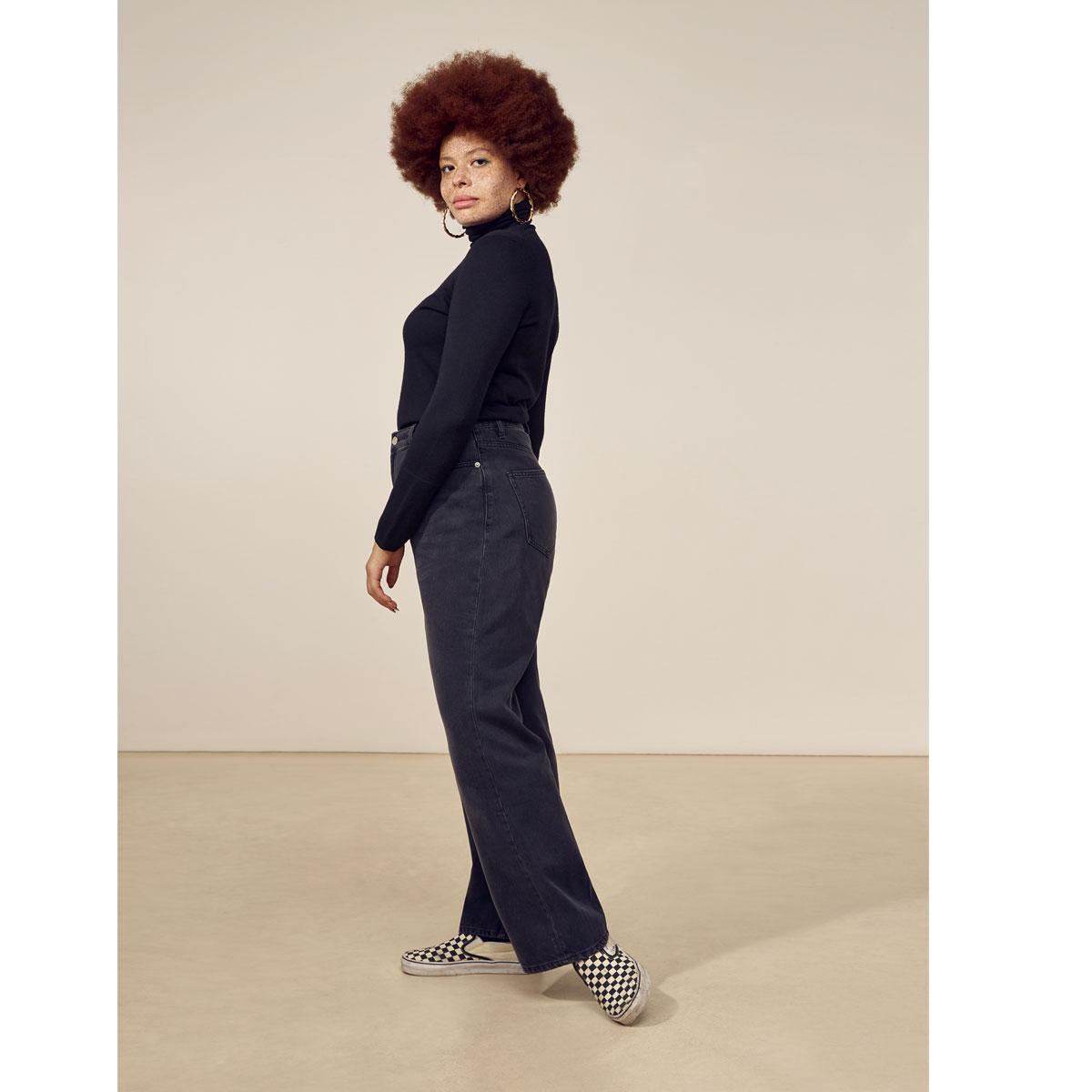 LAB DIP Pantalon SULLY Black Washed