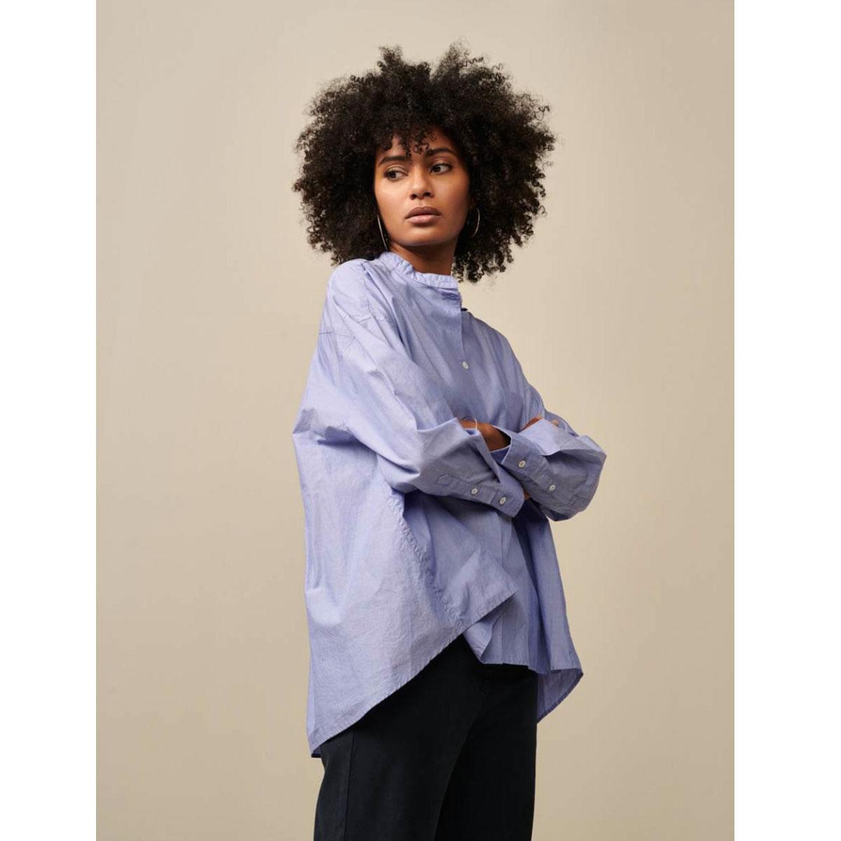 BELLEROSE blouse GORKY rayé bleu