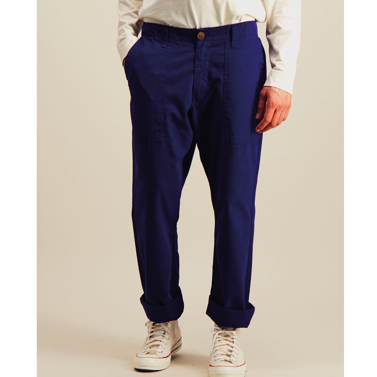 OUTLAND pantalon FATIGUE RIPSTOP indigo