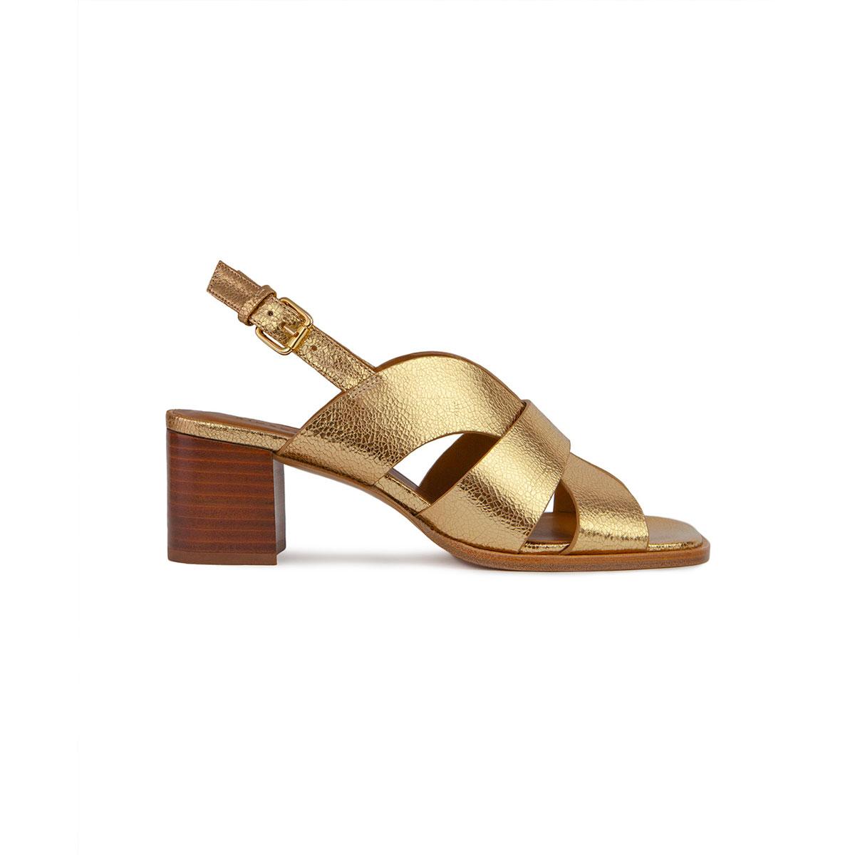 RIVECOUR Sandales 551 gold
