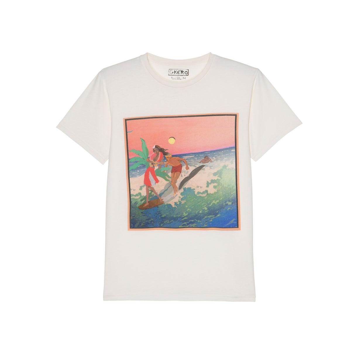 G.KERO Tee shirt SUNSET Pink