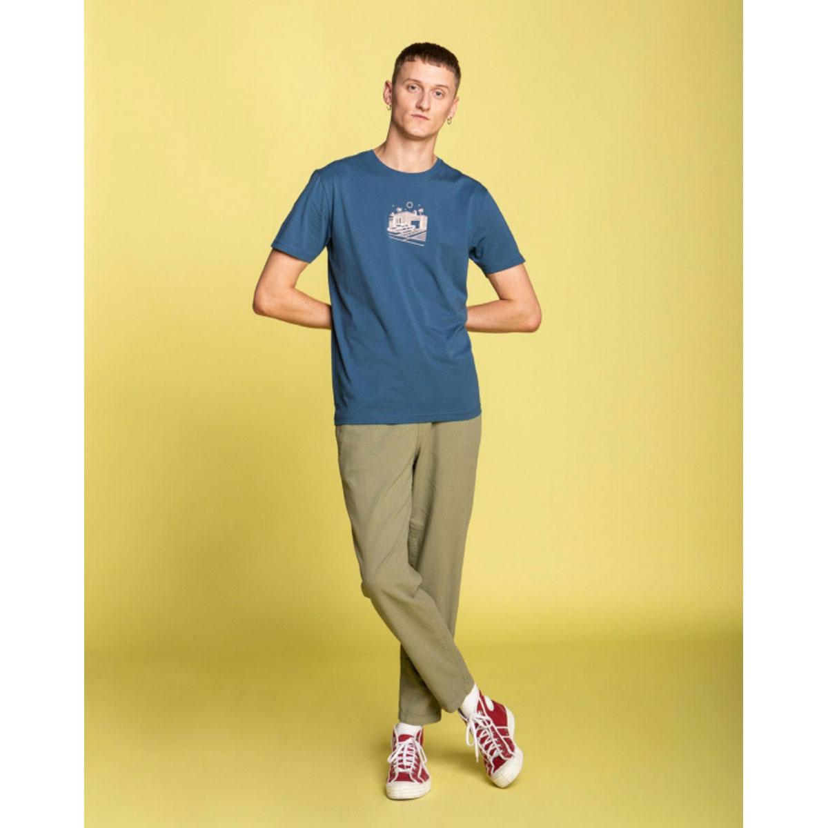 OLOW Tshirt FRONTYARD Bleu