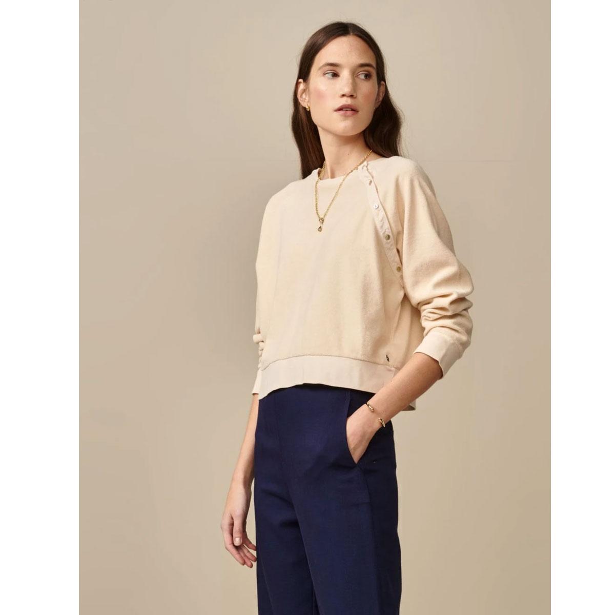 BELLEROSE Sweatshirt VIANA Macadamia