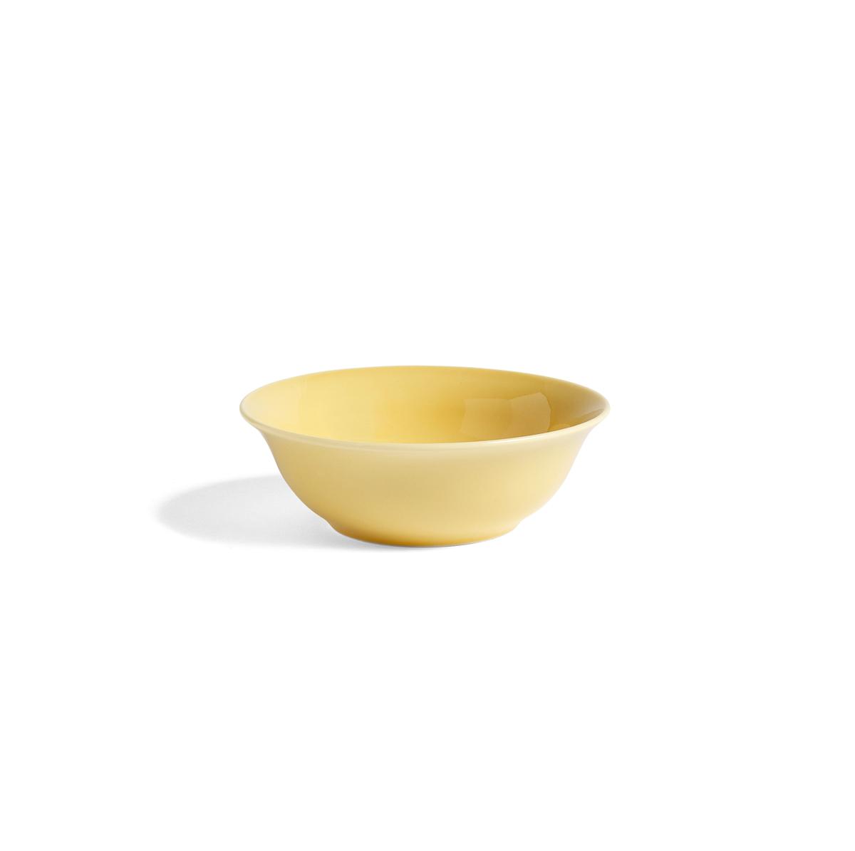 HAY Bol porcelaine RAINBOW Yellow