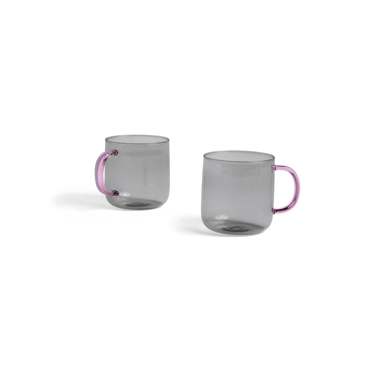 HAY Mug Set de 2 Light grey